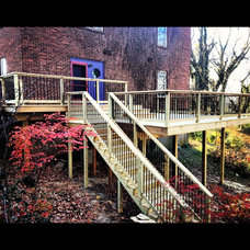 Traditional Porch by Arkill Contracting Services