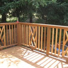 Traditional Porch by Black Tree Developments Ltd.