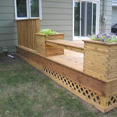 Traditional Porch by D. Jones Construction, LLC