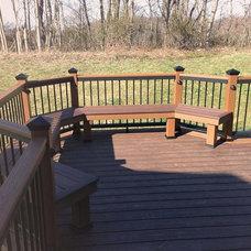 Traditional Porch by Trademark Deck, LLC