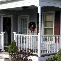 Cleveland Traditional Porch Railing Porch Design Ideas