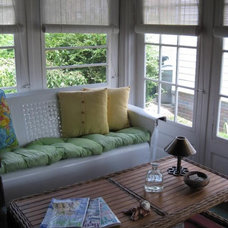Eclectic Porch by Decor Made Simple