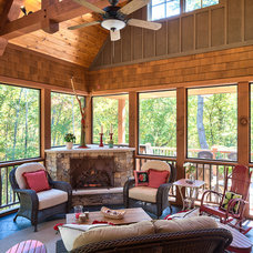 Traditional Porch by Glennwood Custom Builders (NC)