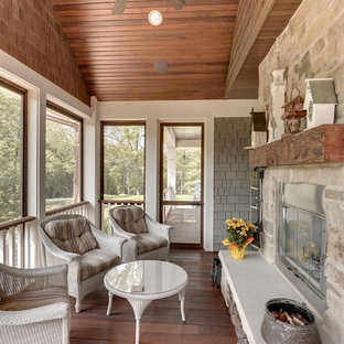 Inspiration for a timeless porch remodel in Minneapolis
