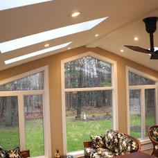 Traditional Porch by OakWood Renovation Experts