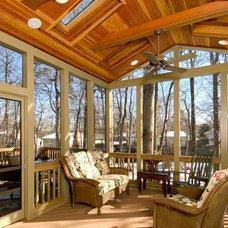 Traditional Porch by Michigan Building Specialties
