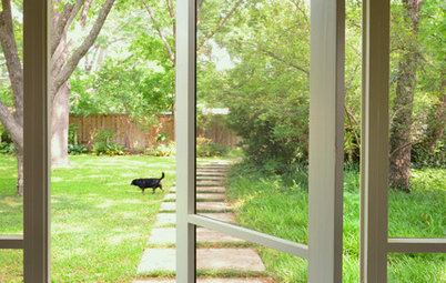 10 Ways to Work Screen Doors, Inside and Out