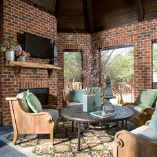 Traditional Porch by Knotting Hill Interiors
