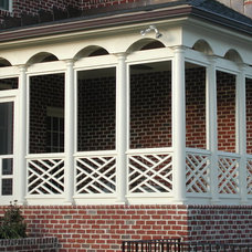 Traditional Porch by ALL IN BUILDERS