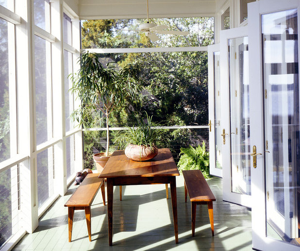 Sunroom Dining Room: Cool Off This Summer On A Screened-In Porch