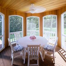 Traditional Porch by Polhemus Savery DaSilva