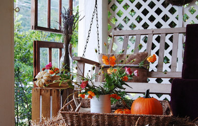 Give Your Porch Some Rustic Fall Style