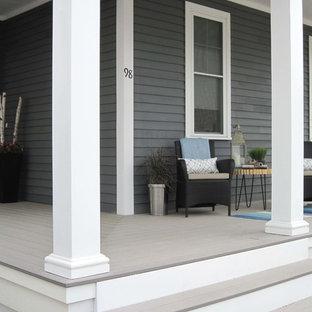 Inspiration pour un porche design.
