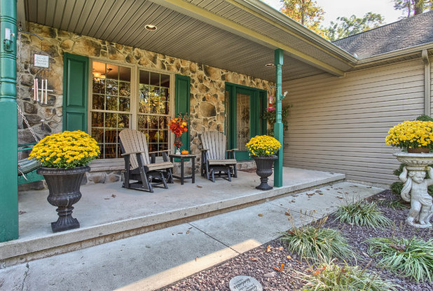 Traditional Porch by Annie M Design
