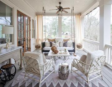 dreamy back porch