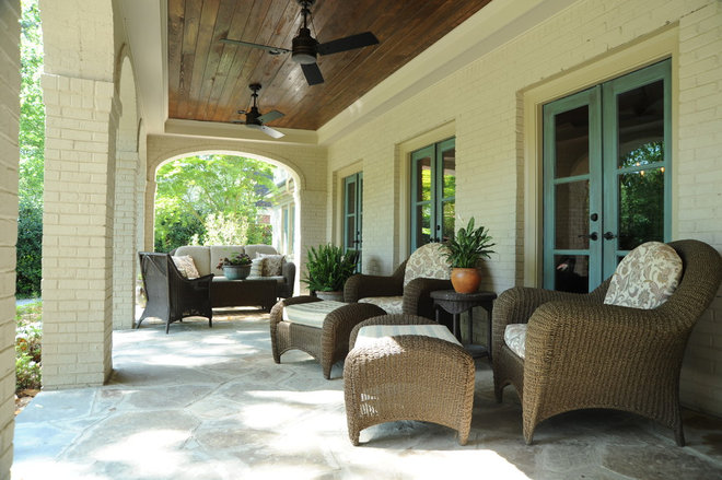 Traditional Porch by Linda MacArthur, Architect