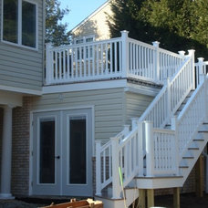 Traditional Porch by Wahoo Decks