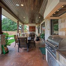 Traditional Porch by Olson Defendorf Custom Homes