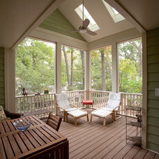 Traditional Porch by DuBro Architects + Builders