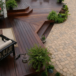 This is an example of a traditional porch design in DC Metro.