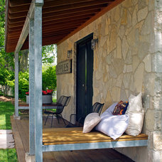 Eclectic Porch by Northworks Architects and Planners