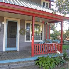 Eclectic Porch Eclectic Porch