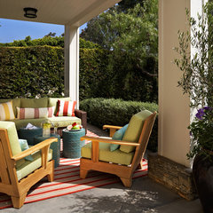eclectic patio by Willey Design LLC