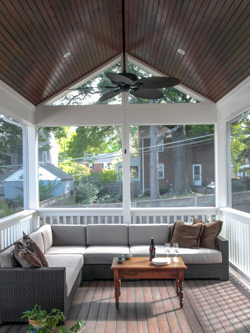 large screened in porch design ideas remodels photos houzz