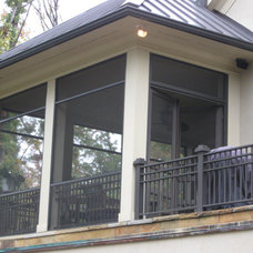 Traditional Porch by McSpadden Custom Homes