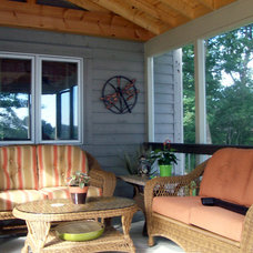 Beach Style Porch by Archadeck of Chicagoland