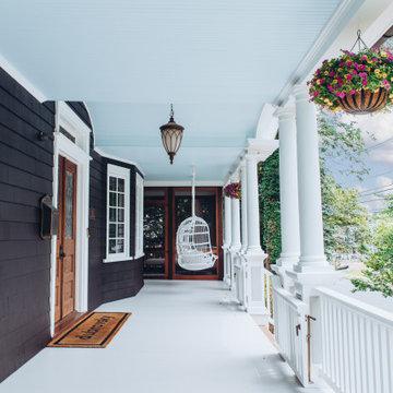 Elm Street Front Porch Remodel