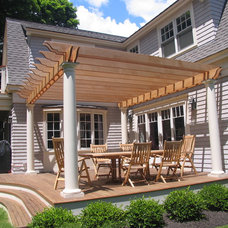 Traditional Porch by Michael McCloskey Design Group