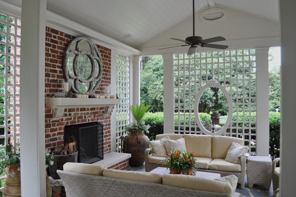 Traditional Porch by Bruce Clodfelter and Associates