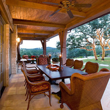 Traditional Porch by Eppright Custom Homes
