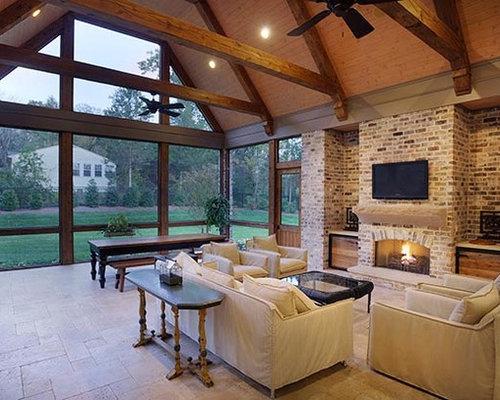 Ideas para terrazas dise os de porches cerrados r sticos - Fotos porches rusticos ...