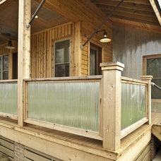 Modern Porch by Beard + Riser Architects