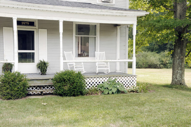 Traditional Porch by House of Earnest