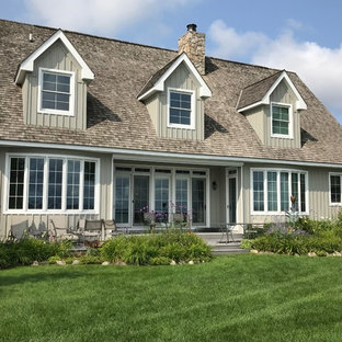 This is an example of a craftsman porch design in Other.