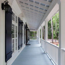 Traditional Porch by The Sustainable Design Group