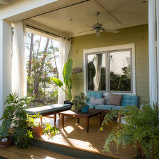 Contemporary Porch by CFH Design Studio