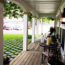 Traditional Porch by Peg Danhour  Naumann Advantech Property Services