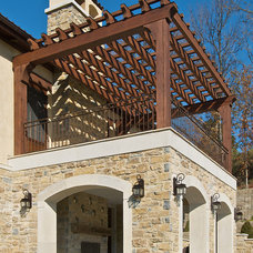 Mediterranean Porch by RWA Architects