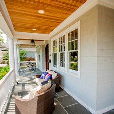Traditional Porch by Savvy Interior Design