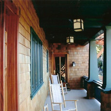 Craftsman Porch by Landmark Builders