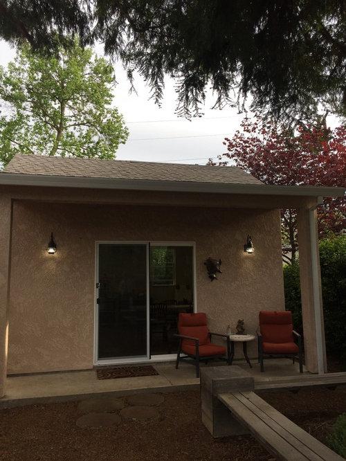 Shabby-Chic Style Stucco Exterior Home Ideas & Design ...