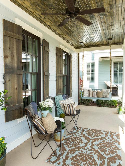 Ideas para terrazas Diseos de terrazas de estilo de casa de campo