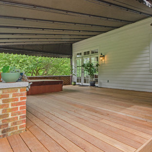 75 Beautiful Back Porch With An Awning Pictures & Ideas ...
