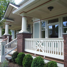Traditional Porch by Gem Builders Carpentry, LLC.