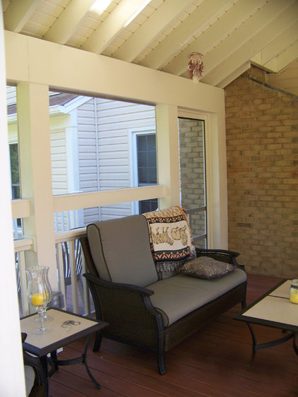 Traditional Porch by Stohlman & Kilner Remodeling Contractors