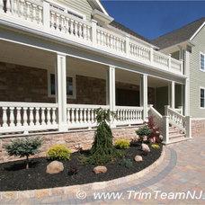 Traditional Porch by Trim Team NJ